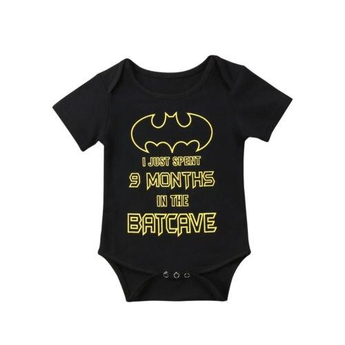 Newborn Infant Baby Boys Girls Superhero Bodysuit