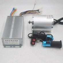 72V 3000W elektrische motor Mit BLDC Controller 3 geschwindigkeit drossel Für Elektrische Roller ebike E Auto motor Motorrad Teil