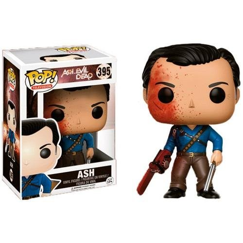 Exclusive FUNKO POP Official TV: Ash VS Evil Dead - Ash Bloody Vinyl Action Figure Collectible Model Toy With Original Box