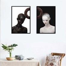 Haochu twins sister постер для гостиной домашний декор с принтом