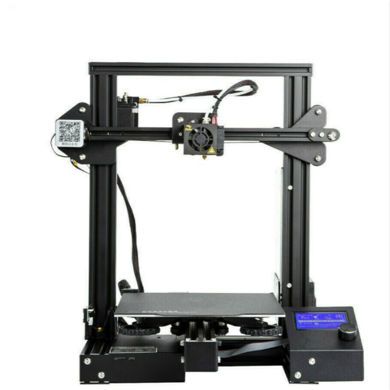 zrprinting Newest Upgrade A13 3D Printer Kit With Cmagnetic Bulid Sticker Resume Print Power Off Brand Power Supply