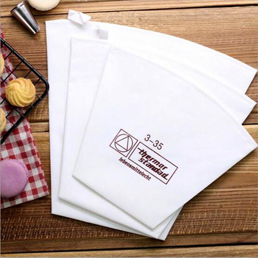 1 шт., кондитерский мешок, хлопковая ткань, сумка для крема и кондитерских изделий, 3 размера, сделай сам, отсадочный мешок для украшения торта...