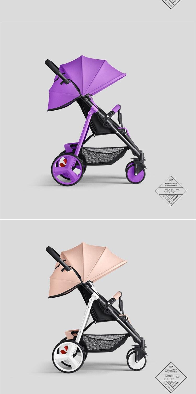 6kg alta vista carrinho de bebê com