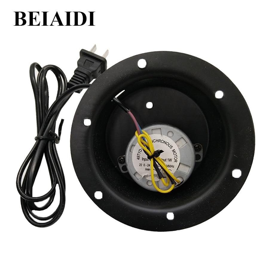 beiaidi 2 5 rpm rotating reflective disco mirror ball motor hanging glass mirror disco ball. Black Bedroom Furniture Sets. Home Design Ideas