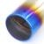 Universal Traseira do carro Cauda Silenciador Do Escape Radiador Da Tubulação De Aço Inox Decorativo Cromo Ponta Sistema de tubulação Fit For VW SUZUKI KIA