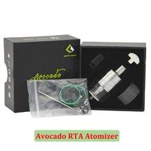 เดิมGeekvapeอะโวคาโดRTAถังปรับบวกขาปลายหยดเปลี่ยนบุหรี่อิเล็กทรอนิกส์ถังVSกริฟฟิ25 RTA (MM)