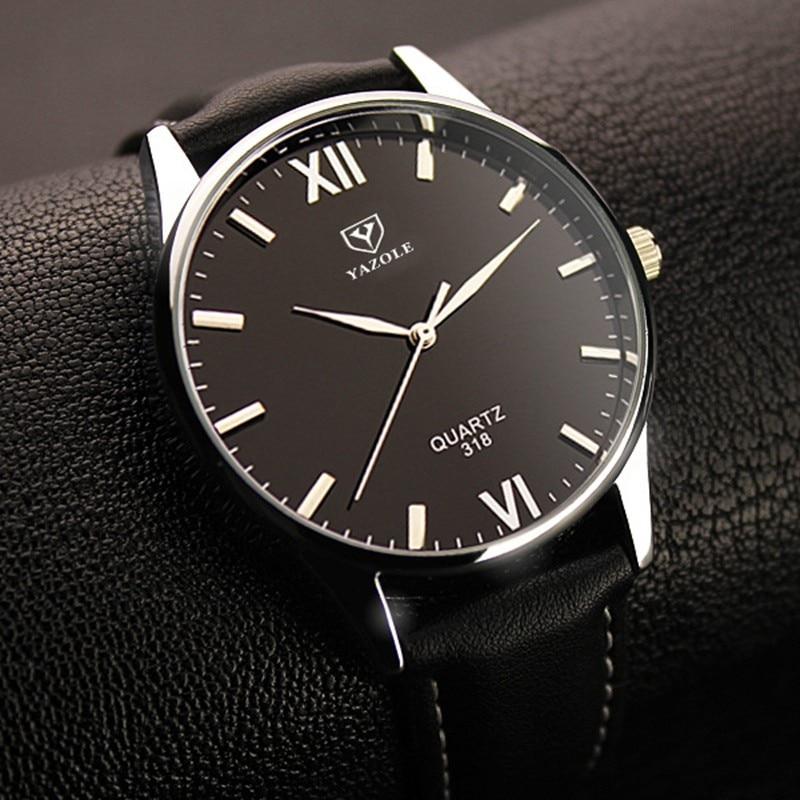 YAZOLE Quarzuhr Männer 2017 Top-marke Luxus Berühmte Armbanduhr Männliche Uhr Armbanduhr Hodinky Quarz-uhr Relogio Masculino