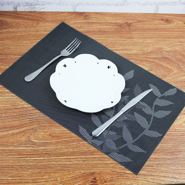 4 pcsset placemat modern pvc table mats for dining absorption waterproof coasters insulation kitchen - Kitchen Table Mats
