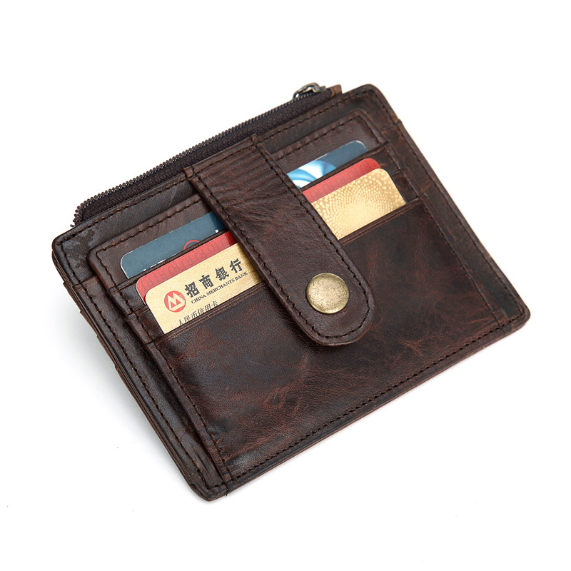 mens card holder with coin pocket