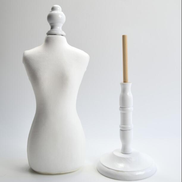 White 49cm Model Rack Pet Mannequin Wood Rack For Cat Dog Clothes Pet Display Hangers Supplies Animal Mannequin 1PC A540