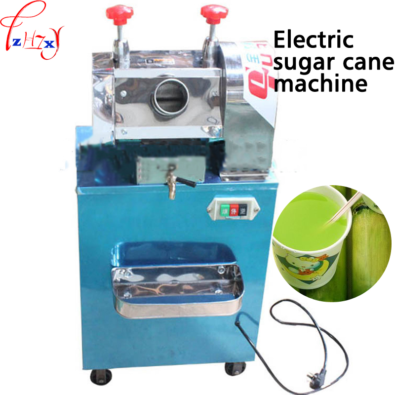 Vertical electric stainless steel cane sugarcane juicing machine MST GZ40 electric sugar cane juice press 220V 370W