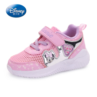 Disney Children's Shoes For Kid Baby Spring Mesh Sneaker Heart Mickey Minnie Mouse Toddler Shoes