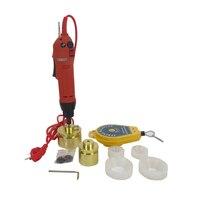 1 SET Electric Capping Tools Equipment Handheld Pharmaceutical Bottle Capper Foils Jar Locking Machine