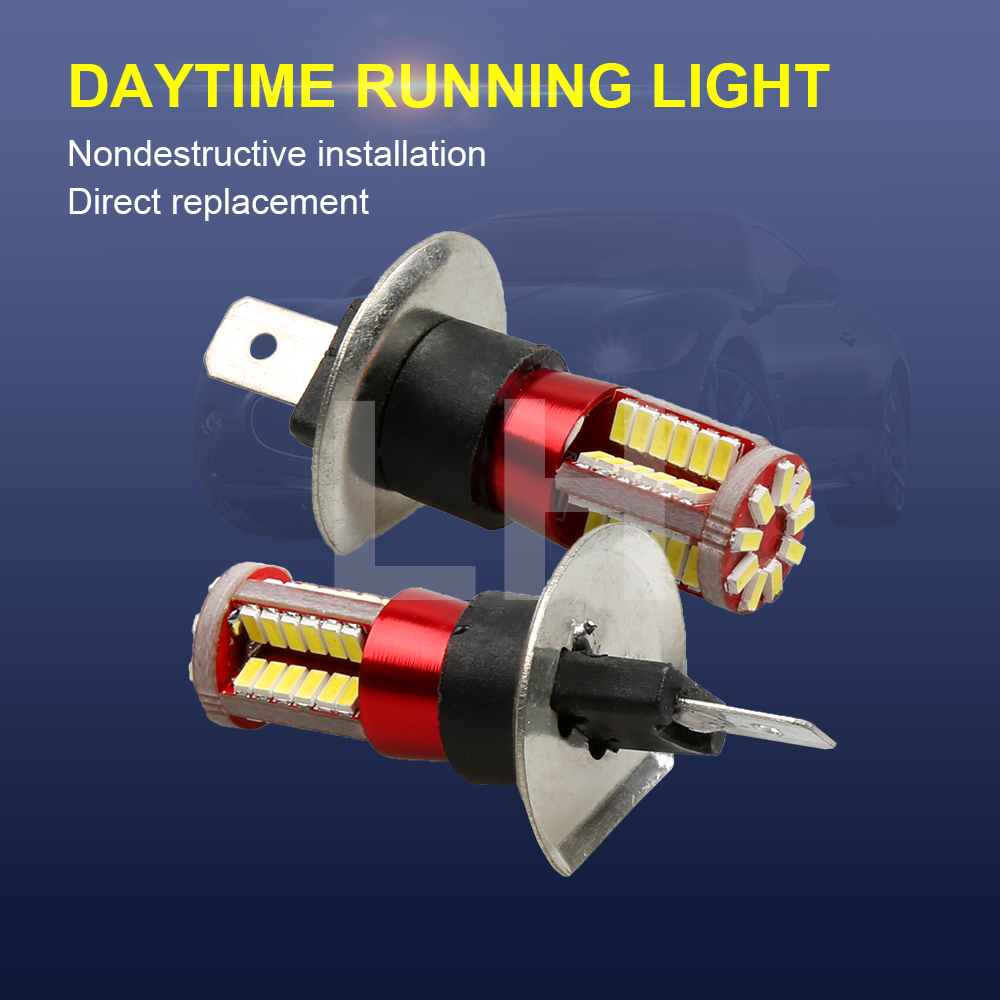 DC12V H1 3014 57 Car LED Side Light Bulbs Car Fog lamp Canbus for both external and internal use