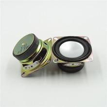 2 sztuk 4 Ohm 3W 52MM 2 cal głośnik Audio pełny zakres DIY Mini Stereo akcesoria do pudełek głośnik multimedialny