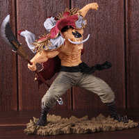 One Piece SC Edward Newgate 20th Figure Anime Figurine One Piece Edward Newgate Whitebeard Action Figure Collectible Model Toy