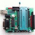 C51/AVR Placa Aprendizagem Placa de Desenvolvimento Microcontrolador STC89C52 MCU Kit DIY Suíte Componentes sem Chip Eletrônico