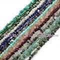 """Natural Freeform grava chips Material de forma libre piedra de gema collares pulseras DIY Jewlry que hace Beads Strand 16 """" envío gratis"""