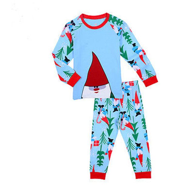 f2abb4a817 Toddler Children Baby Kid Boys Girls Christmas Santa Claus Pyjamas  Nightwear Sleepwear 0-7T Bobo