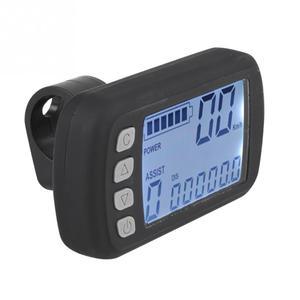 Image 4 - 24 V/36 V חשמלי אופני אופניים Brushless בקר עם LCD פנל + מהירות התאמת מצערת + ידיות + מהירות לסייע ערכת חיישן