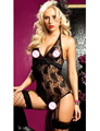 Hot Sale Sex Products Sexy Costumes Women Underwear Lady Sexy Lingerie Transparent Conjoined Lingerie Full Lace Sleepwear