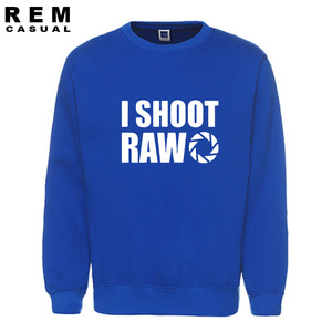 Image 5 - סגנון חדש אני לירות גלם מצחיק צלם מתנה ארוך שרוול גברים מקרית נים, חולצות
