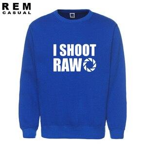Image 5 - New Style I SHOOT RAW Funny Photographer Gift long sleeve Men Casual Hoodies, Sweatshirts
