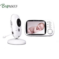2.4G wireless VB603 video baby monitor 3.2 inch LCD audio dialogue night vision surveillance security camera nanny