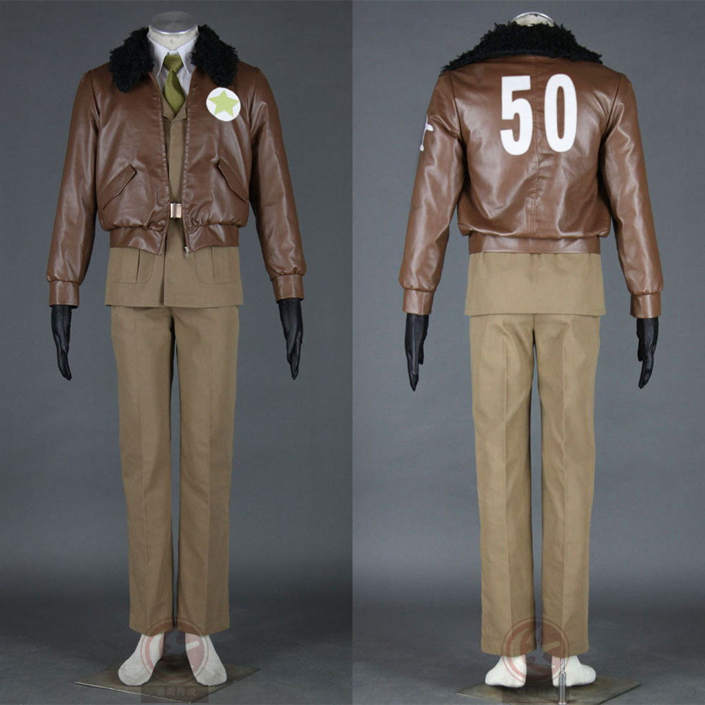America USA Uniform Cosplay Costume From Axis Powers Hetalia Anime