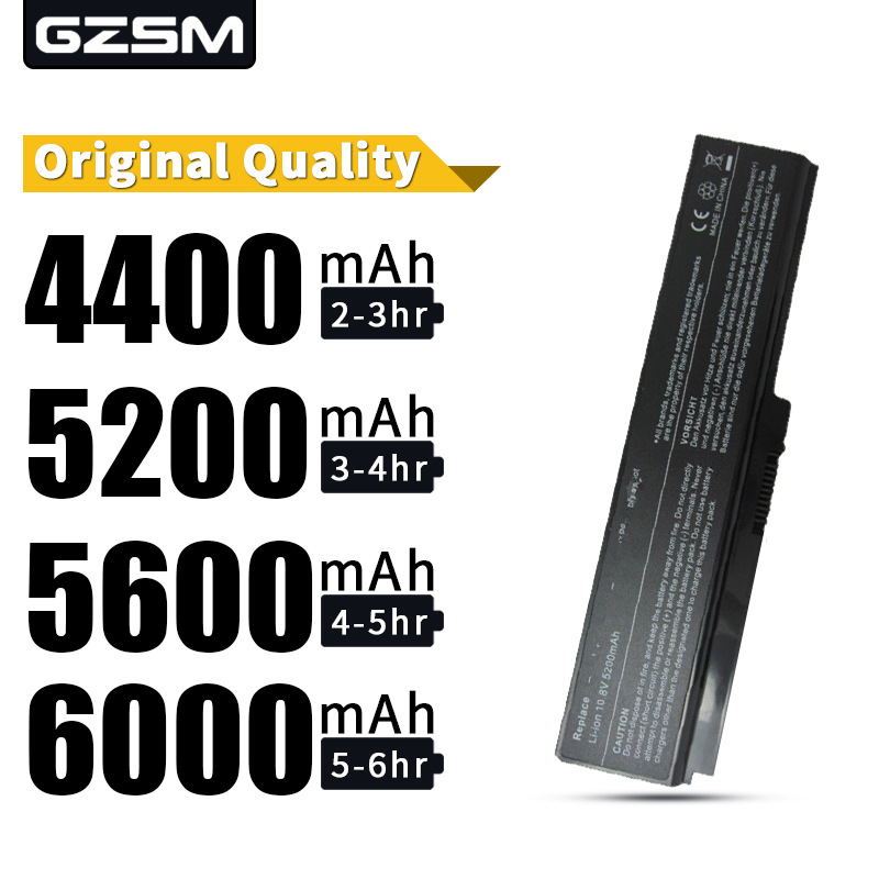 HSW Laptop Battery For Toshiba C650 C660D L630 L670 U400 U500 C650D Battery For Laptop C660 L640 T110 T115 U405D A660D Battery