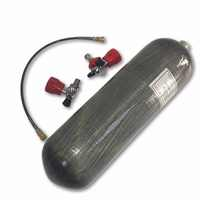 AC168101 Air/Paintball Tank 4500psi 6.8L CE Carbon Gas Zylinder Mini Scuba Tank Atemschutzgerät Druckluft Gewehr