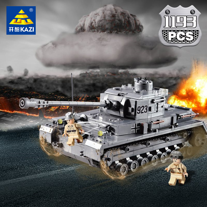 1193Pcs Large Panzer IV Tank Building Blocks Sets Compatible LegoINGs Military WW2 Army Weapon Soldiers Bricks Toys for Children1193Pcs Large Panzer IV Tank Building Blocks Sets Compatible LegoINGs Military WW2 Army Weapon Soldiers Bricks Toys for Children