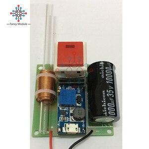 Image 2 - Module de pistolet électromagnétique primaire modèle expérimental scientifique pistolet électromagnétique gamme de Module de charge 5M pièces de bricolage