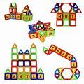 202pcs-20pcs Mini Magnetic Designer Construction Building Blocks Toy Plastic Magnet Create Blocks Educational Toys For Kids Gift