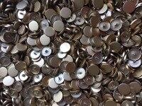 Atacado 50 Pcs 25mm Liga de Metal Botão Casaco rustfree Botones Para Costura DIY Acessórios de Vestuário Em Massa Ouro Cor Livre grátis