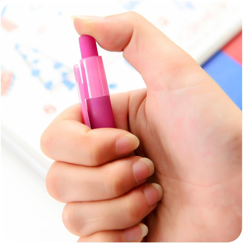 Cute Kawaii Star Plastic Gel Pen Creative Space Jelly Black Ink Pens Office School Supplies Korean Stationery Free Shipping 2409