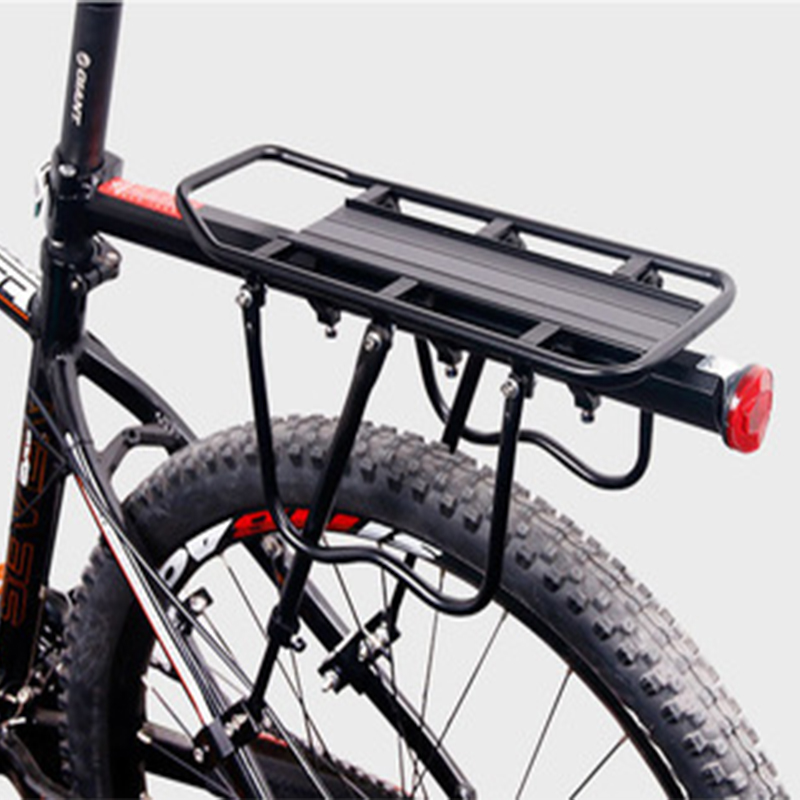 AOXIN Bicycle Luggage Carrier Cargo Rear Rack Shelf Cycling Seatpost Bag Holder Stand fo ...