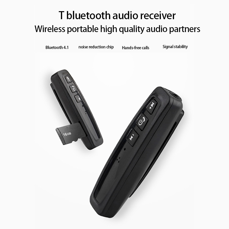 Bluetooth Receiver 3.5mm Jack Bluetooth Audio Music Wireless Receiver Adapter Car Aux Cable For