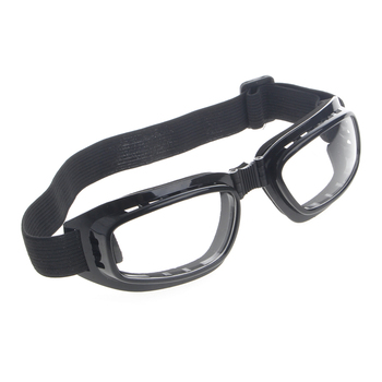 Foldable Safety Glasses With Adjustable Elastic Headband Suitable For All Head Sizes For Eye Protection