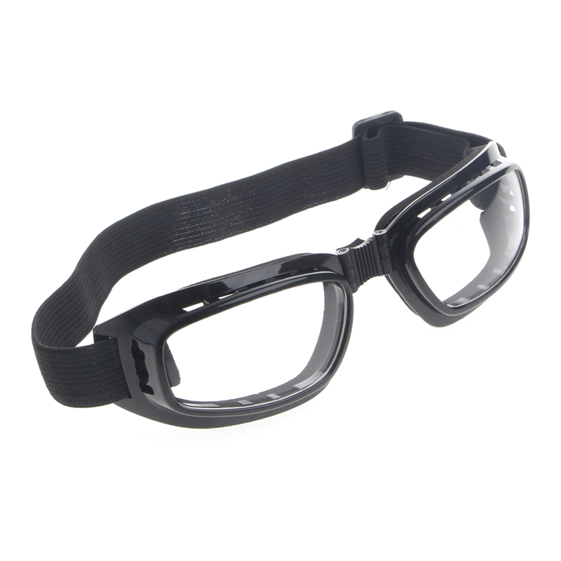 Free Shipping Foldable Safety Goggles Ski Snowboard Motorcycle Eyewear Glasses Eye Protection