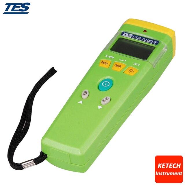 CO Analyzer Carbon Monoxide Meter Tester TES1372R