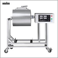 XEOLEO 25L Meat Salting machine Meat Marinated machine Commercial Pickles car Roll kneading machine Hamburger shop for KFC 200W