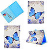 Wolf Butterfly Panda Fox Deer Flower PU Leather Cover For I Pad 9 7 2017 Tablet