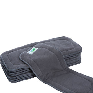 Image 5 - Hot Sell AnAnBaby 2015 New Reusable 20pcs/pack 5 Layer Bamboo Charcoal Inserts