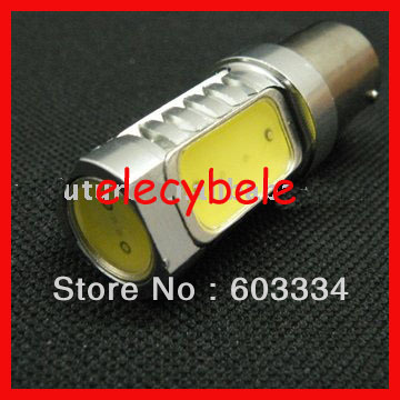 Free Ship LED Rear Turn Signal Lights LED Car Auto Bulb Lamps 12V White 1156 BA15S Base 50pcs/lot