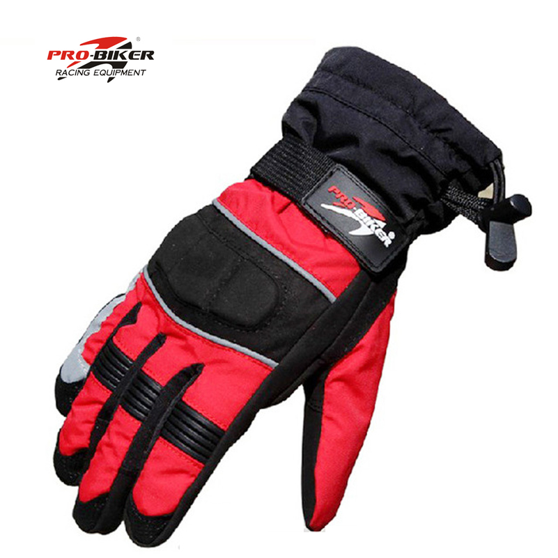 Pro biker mtorbike Protective <font><b>Gloves</b></font> gants moto winter full finger men <font><b>glove</b></font> motorcycle waterproof guantes de motociclista