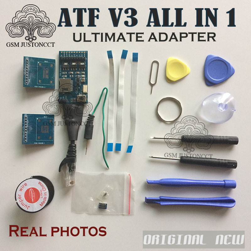 100% Original product ATF box JTAG/EMMC/