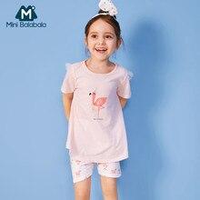 75cc941f0 مصغرة Balabala طفل فتاة 100% القطن منامة مجموعة ملابس الأطفال الاطفال  الفتيات منامة مجموعة ملابس خاصة الملابس الداخلية مع الدانت.
