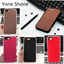 Yoneshone VANS Waffle Case For Apple iPhone 7 6 6S 5 5s 7 plus SE Cover Soft Rubber Silicone Waffle Shoe Sole Mobile Phone Funda