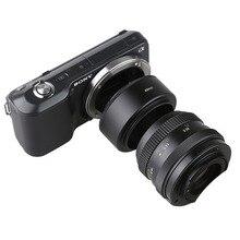 מתכת NEX49/52/55/58/62/67/72mm מצלמה עדשת מאקרו הפוך מתאם הארכת צינור עבור Sony A6400 A6300 A5100 A5000 A7 השני A7R NEX7